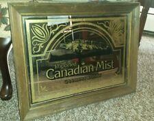 Canadian Mist whiskey mirror