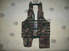 07's series China PLA Army Desert Digital Camo Combat Tactical Vest,Set,A