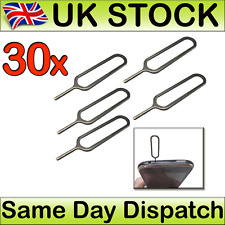 30 x Sim Card Tray Pin Key Tool Opener for Apple iPhone 3GS 4S 5C 5S 6 Plus iPad