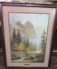 WHERE EAGLES SOAR Ltd Edition Print G. HARVEY  Signed/Framed/Numbered 793/2250