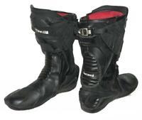 """"""" BÜSE """" Herren- Motorradstiefel / Racing- Stiefel / Boots in schwarz ca. 42,5"""