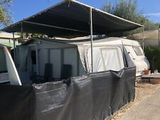 HOBBBY CARAVAN AND AWNING 6 BERTH Sited In Benidorm