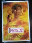 DEMONSTONE Video Store Movie Poster 1989 Horror Halloween Nancy Everhard