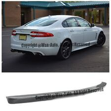 For 09-14 Jaguar XF Factory Style Rear Trunk Spoiler Wing Lip Kit Unpainted