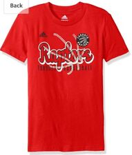 NBA Girls 7-16 Toronto Raptors Middle Basketball Short Sleeve Tee L(14) Red
