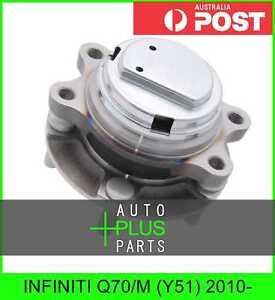 Fits INFINITI Q70/M (Y51) 2010- - Front Wheel Bearing Hub