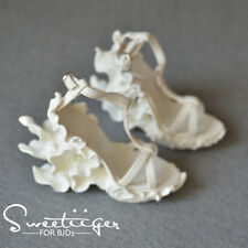 【Tii】1/3 BJD High heeled SD16 sdgr Carved shoes outfit super dollfie fee DD Luts