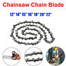 12''/14''/15''/16''/18''/20''/22'' Length Chainsaw Chain Blade Replacement Part