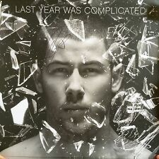 Nick Jonas - Last Year Was Complicated lithograph Signed Autographed Not Cd Viny