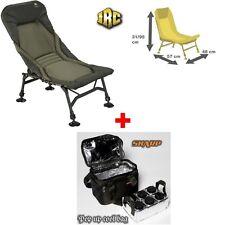 JRC Stealth X-Lite Recliner Chair - Angelstuhl + Skarp Pop up cool bag mit Dosen