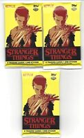 2018 Topps Stranger Things Season 1 Hobby Trading Card 3 SEALED PACKS