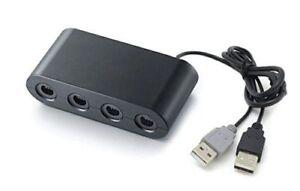 Super Smash Bros Gamecube Controller Adapter für Wii U - Nintendo Wiiu Brandneu
