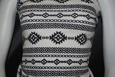 Cotton Jersey Lycra Tribal Print  Knit Fabric Very Soft 7 .5 oz