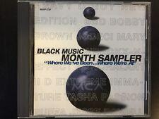 BLACK MUSIC MONTH SAMPLER CD 1996 OG MCA RECORDS PROMO RARE NM-