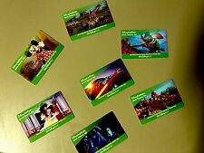 2017 Lot Of 7 Walt Disney World Tickets Collectible Card NO VALUE