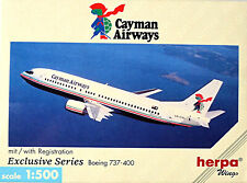 Caïmans Airways Boeing 737-400 - Avion 1:500 Herpa Wings 501361