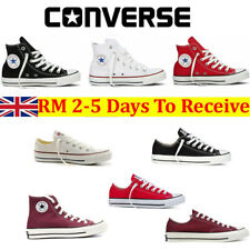 Converse Mens Womens Trainers Low High Tops Chuck Taylor All Star Casual Shoes K