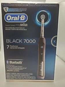 Oral-B Black 7000 SmartSeries Power Rechargeable Electric Toothbrush with Bluet…