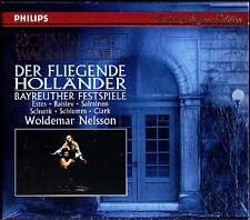 WAGNER: DER FLIEGENDE HOLLÄNDER Bayreuther NELSSON 2CD Estes Salminen Balslev