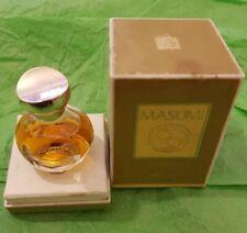 RARE VINTAGE FRANCOIS COTY MASUMI 7.5ml PARFUM DISCONTINUED