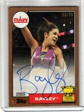 2017 Topps WWE Heritage Auto BAYLEY Bronze Parallel 63/99 AUTOGRAPH Rare SSP