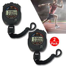 Digital Lcd Alarm Date Time Counter Stopwatch Sport Timer Electronic Chronograph