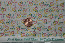 """AUNT GRACE """"FIRST PLACE"""" QUILT FABRIC CIRCA 1930's BY THE YARD MARCUS 4487-D333"""