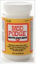 Plaid Mod Podge Decoupage Matte Finish 8 oz CS11301