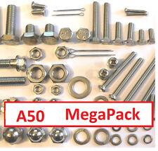 Suzuki A50 - Nut / Bolt / Screw Stainless MegaPack