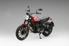 2015 ROSSO DUCATI SCRAMBLE ICON RED 1/12 DIECAST MOTORCYCLE MODEL BY TSM MC0004