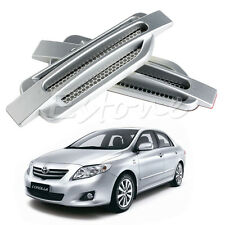 Car Side Air Flow Vent Fender Hole Cover Intake Grille Duct Sticker Decoration