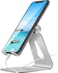 Phone Stand, Adjustable Phone Holder Stand Dock Holder Full Aluminium Desktop