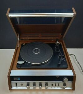 Hitachi 311 Vintage Record Player HiFi FM AM Radio Stereo