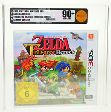 Legend of Zelda Tri Force Heroes NINTENDO 3 DS DS NEUF new sealed VGA 90+ Gold