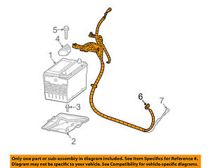 GM OEM-Battery Cable 88987141