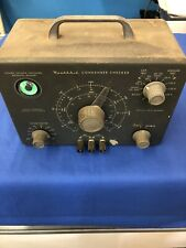 Heathkit Condenser Checker With Green Eye Tube Turns On See Details