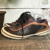 Merrell Cosmo Chestnut Leather Walking Shoes Women's Size 7 Brown Dark Brown