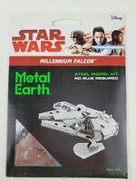Fascinations Metal Earth Millennium Falcon Laser Cut 3D Metal Model Kit