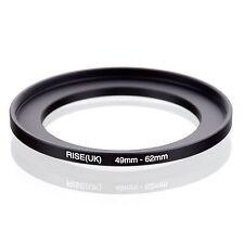 Retencion 49mm A 62mm Stepping intensificar filtro anillo adaptador 49mm-62mm