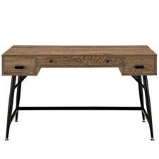 walnut office furniture. Modway Surplus Modern Office Desk In Walnut Walnut Office Furniture