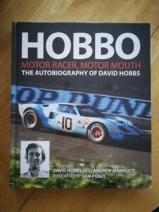 Hobbo - Motor Racer, Motor Mouth The Autobiography of David Hobbs - Brand New