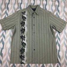 Crazy Horse Men's Button Down Shirt Classic Fit Size Medium