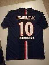 Maillot football PSG Paris Saint Germain Ibrahimovic Maglia Jersey Trikot Shirt