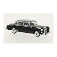 Mercedes-benz 300D W189 Año Fabricación 1957 negro / gris claro 1 43 Whitebox