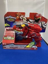 Power Rangers T-Rex Super charge Morpher Red
