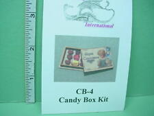 Dollhouse Miniature Candy Box Kit - Dragonfly Int'l #CB-4 - 1/12th Scale