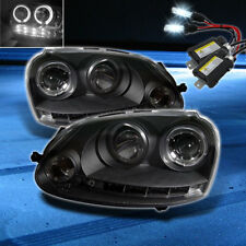 For 8000K Slim Xenon HID+06-09 GTI Jetta Rabbit Halo LED Pro Headlights
