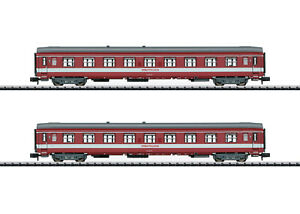 """Trix Minitrix 15951 Schnellzugwagen-Set """"Le Capitole"""" SNCF 2-teilig #NEU in OVP"""