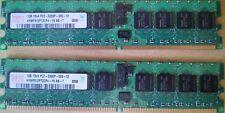 2 GB di RAM DDR2 1Rx4 PC2-5300P-555-12 con ECC