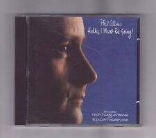 (CD) PHIL COLLINS - Hello, I Must Be Going! / West Germany Target CD